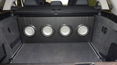 Custom box in 2014 BMW X5